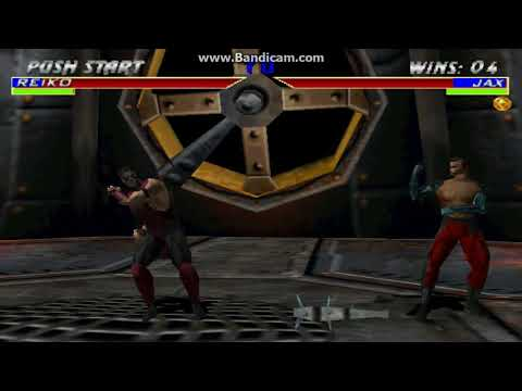Mortal Kombat Gameplay by using only Fist or Hand attacks  play as Jax