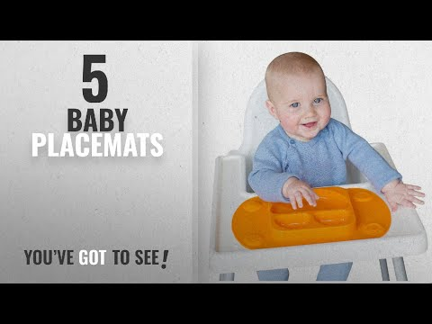 Top 10 Baby Placemats [2018]: Mini EasyMat® for Highchair and Travel Feeding. Portable Baby