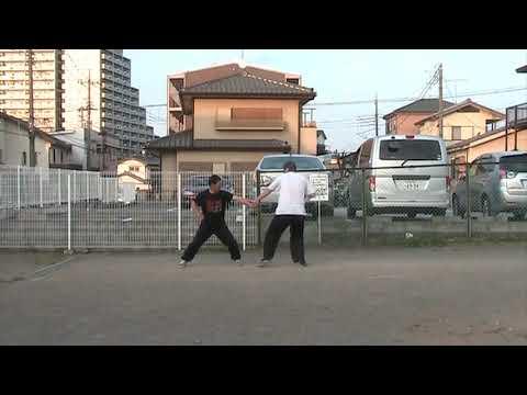 猛虎硬爬山対練の練習 0\\20200322 - YouTube