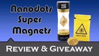 Review & Giveaway |::| NanoDots Super Magnets