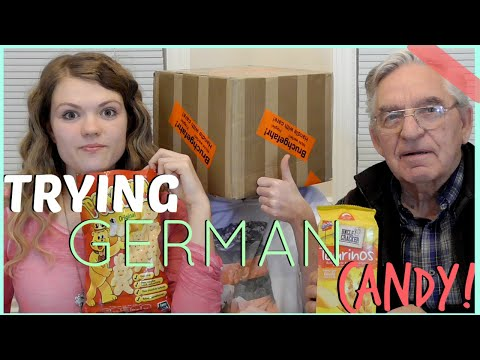 Americans Try German Candy (Part 2!)