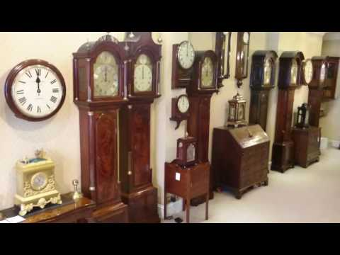 Twelve o'clock midday in our antique clock shop