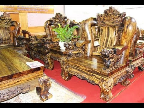 """Ngắm bộ bàn ghế gằng gỗ quý """"siêu đắt"""" của các đại gia"""