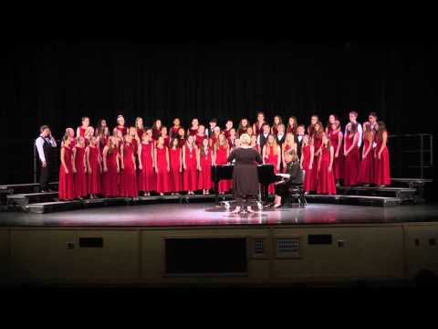 Lawton Chiles Middle School performs Benedicamus Domino