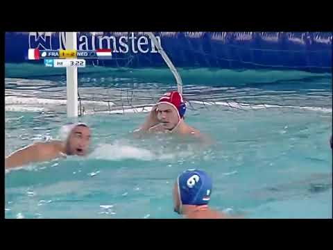 Water Polo:  France -Pays Bas (Qualification Jeux Olympiques Rio 2016)