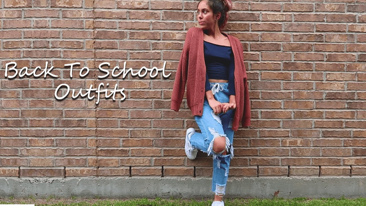 [VIDEO] - 10 BACK TO SCHOOL OUTFITS| FIRST DAY OF SCHOOL OUTFIT IDEAS 6