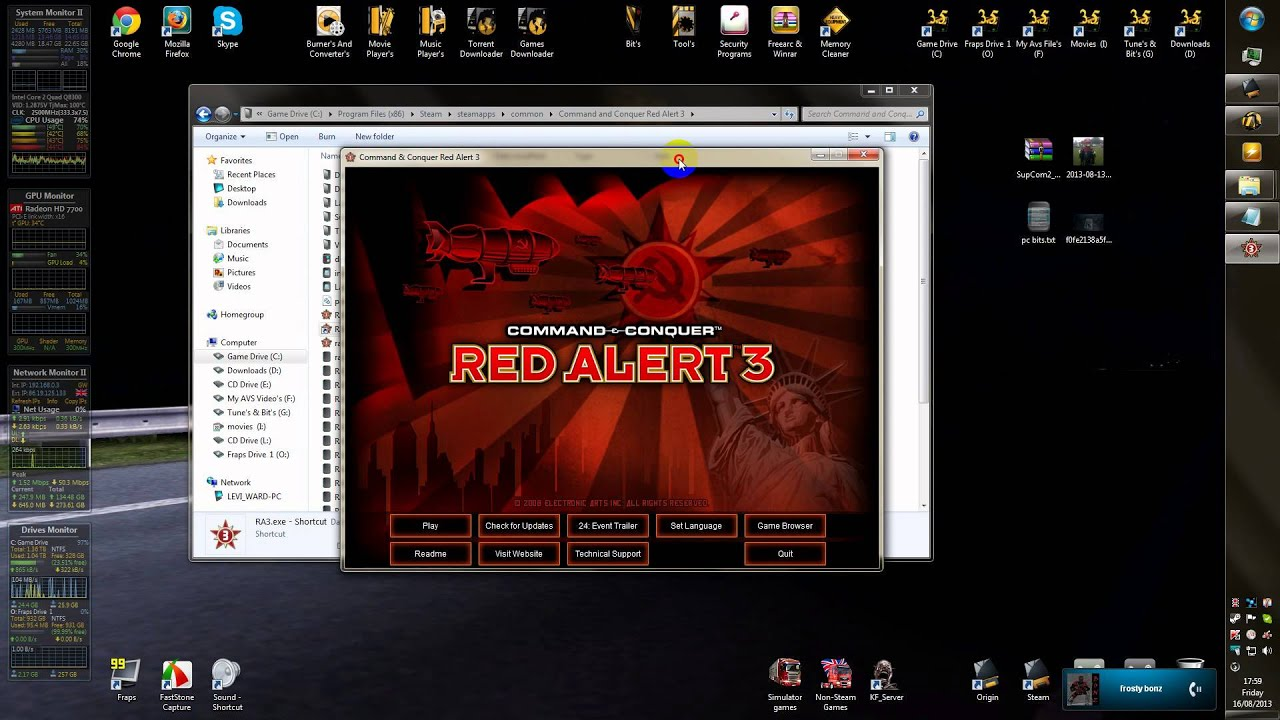 How To Install Command And Conquer Red Alert 3 Mods For All