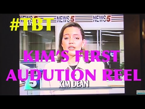 TBT Kim's Audition Reel from COLLEGE!  The Holderness Family