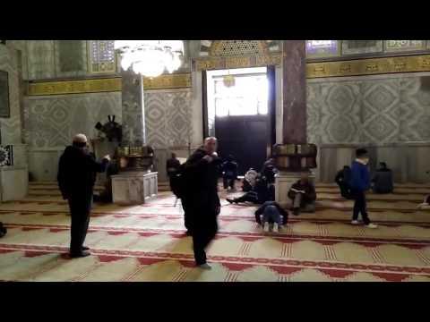 Adzan Sholat Ashar di Masjid Al Aqso