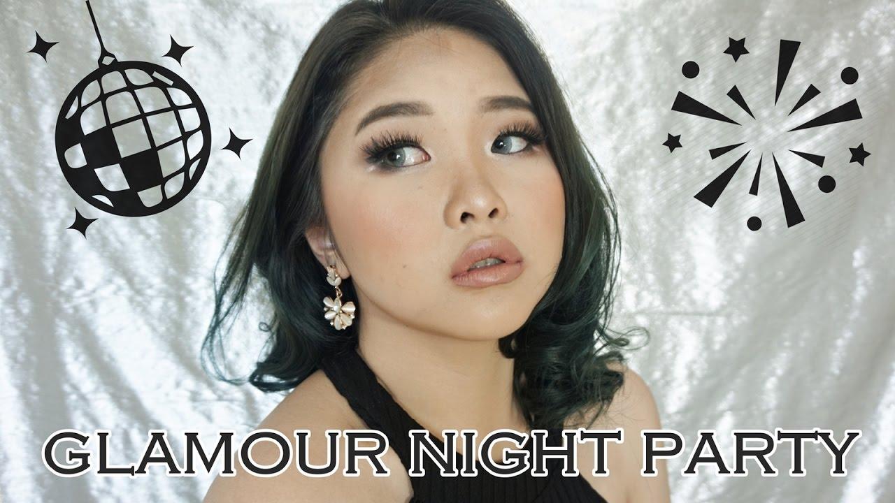 U0026quot;GLAMOUR NIGHT PARTYu0026quot; Makeup Tutorial #NANDAARSYINTAGIVEAWAY || Jessica Praseko - YouTube