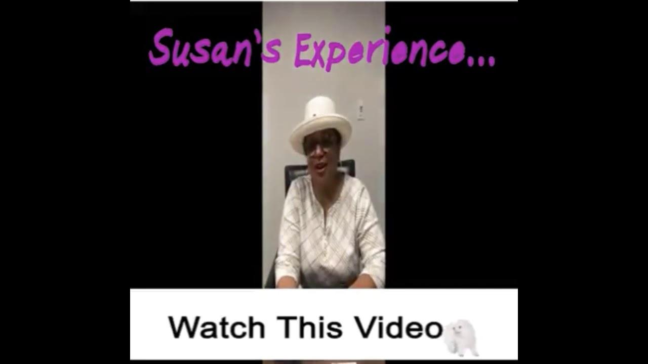 Susan's Testimonial