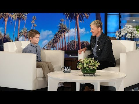 JJ Ryan - Ellen Makes 6 Yr Old Oklahoma Boys Dreams Come True