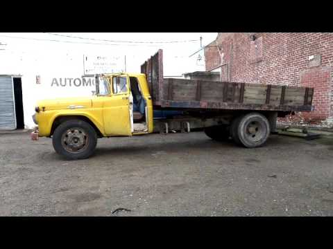 Y block powered f 600 operating the dump bed and new for Premium motors hanford ca