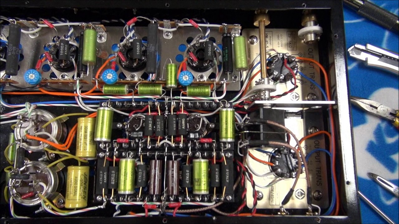 home made tube amp point to point wiring final youtube rh youtube com tube amp input wiring pyle tube amp wiring