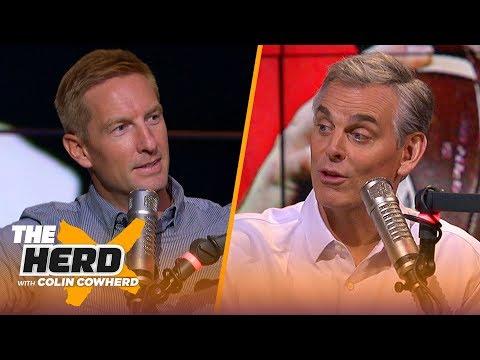Joel Klatt previews Michigan vs. Wisconsin, talks Daniel Jones, Mason Rudolph, Chip Kelly | THE HERD