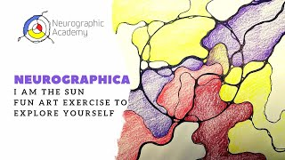 "Neurographica, ""I am the Sun"" - Art exercise to explore yourself. Healing Art with Anna Romanenko"