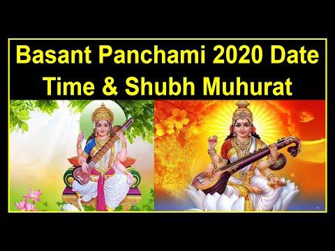 Basant Panchami 2020 Date Time & Shubh Muhurat    Basant Panchami Puja   Basant Panchami Ka Mahatva