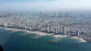 A perfect Boeing 777 landing in Tel Aviv  accompanied by Vivaldi and Andy Miles
