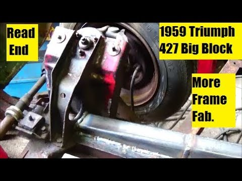 Low Budget Drag Car Build Part 5 Fabrication & Rear End