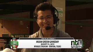 Mean Green Gameday: UNT vs Abilene Christian Week 1 2019 Season
