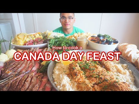 How to cook a CANADA DAY FEAST