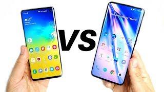 Samsung Galaxy S10 vs OnePlus 7 Pro Video