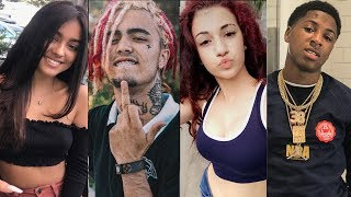 Danielle Bregoli & Lil Pump MEETS UP and NBA Youngboy & Malu Trevejo are BACK Talking thumbnail
