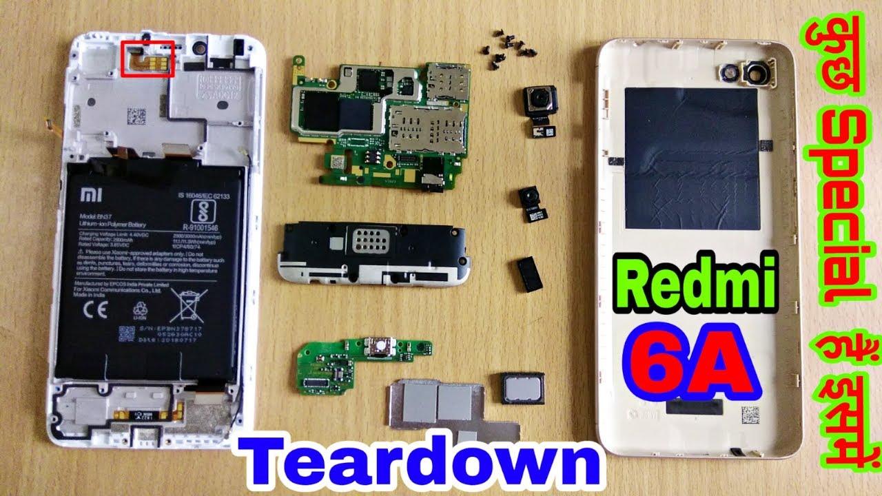 Redmi 6A Teardown & Disassemble | Redmi 6a Internal Parts Replacement #1