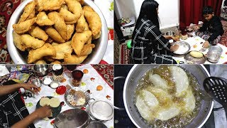 Holi Ki Taiyari || Making Gujiya || Desi style gujiya recipe || Late night vlog ||Indian vlogger2019 thumbnail