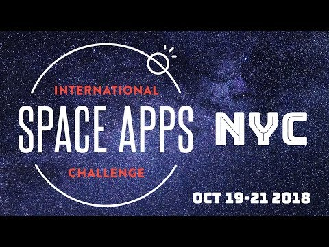 NYC Space Apps 2018 - Live Hacking!