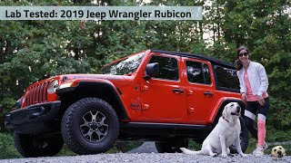 2019 Jeep Wrangler Unlimited Rubicon: Andie the Lab Review!