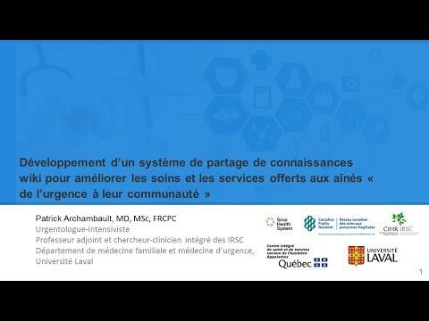 Développement d'un système de partage de connaissances WIKI