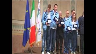 1281\16 Premiazioni Sportive CONI anno 2016  La Spezia 1 Dicembre 2016