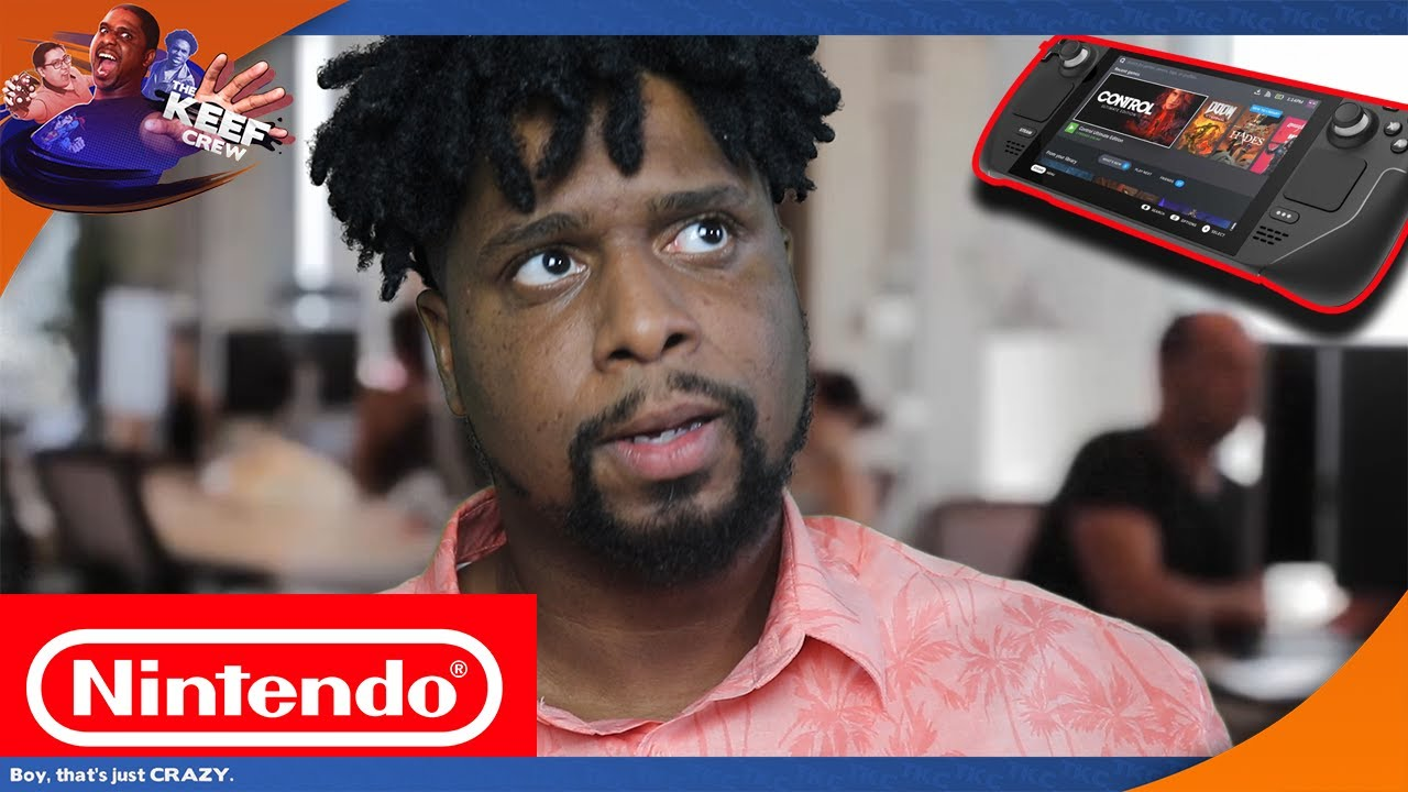 How NINTENDO reacted to Valve's STEAM DECK!