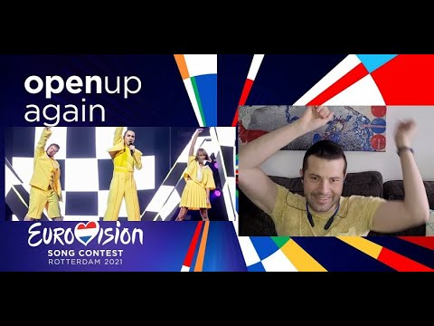 The Roop - Discoteque LIVE reaction   Lithuania Eurovision 2021 selection