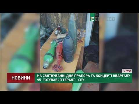 На святкуванні Дня прапора та концерті Кварталу 95 готувався теракт - СБУ
