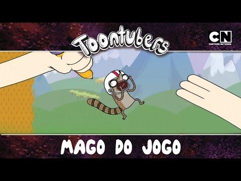 Aquele que o Rigby ficou sem chão!   Mago do Jogo   Toontubers   Cartoon Network