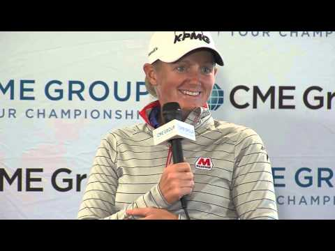 Stacy Lewis' Pre-Tournament Press Conference at the 2015 CME Group Tour Championship