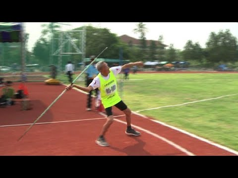 Golden Oldies: Thai seniors compete in first 'Elderly Games'