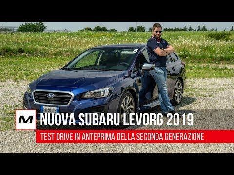 Subaru Levorg 2019   Test Drive in anteprima della seconda generazione