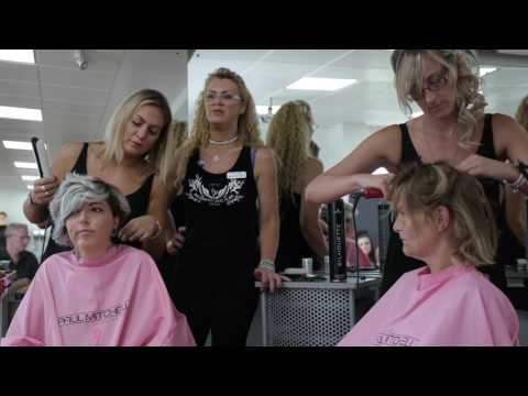 Party Hair Demonstration - Hull College Hair & Beauty