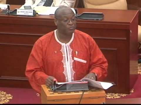 Ghanaian Minister for Health whipped to Parliament to explain the Ebola Vaccine
