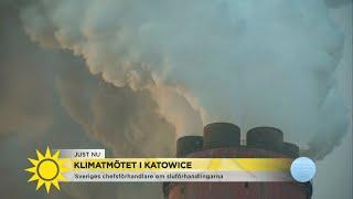 """Baixar """"Hoppfull - men positionerna hårdnar på klimatmötet"""" - Nyhetsmorgon (TV4)"""