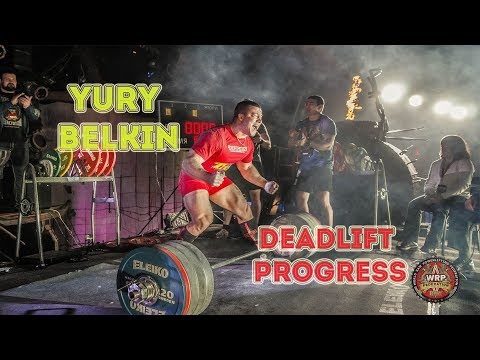 YURY BELKIN 😈 DEADLIFT PROGRESS FROM 340 TO 440 😈 POWERLIFTING MOTIVATION | 1LIFTING