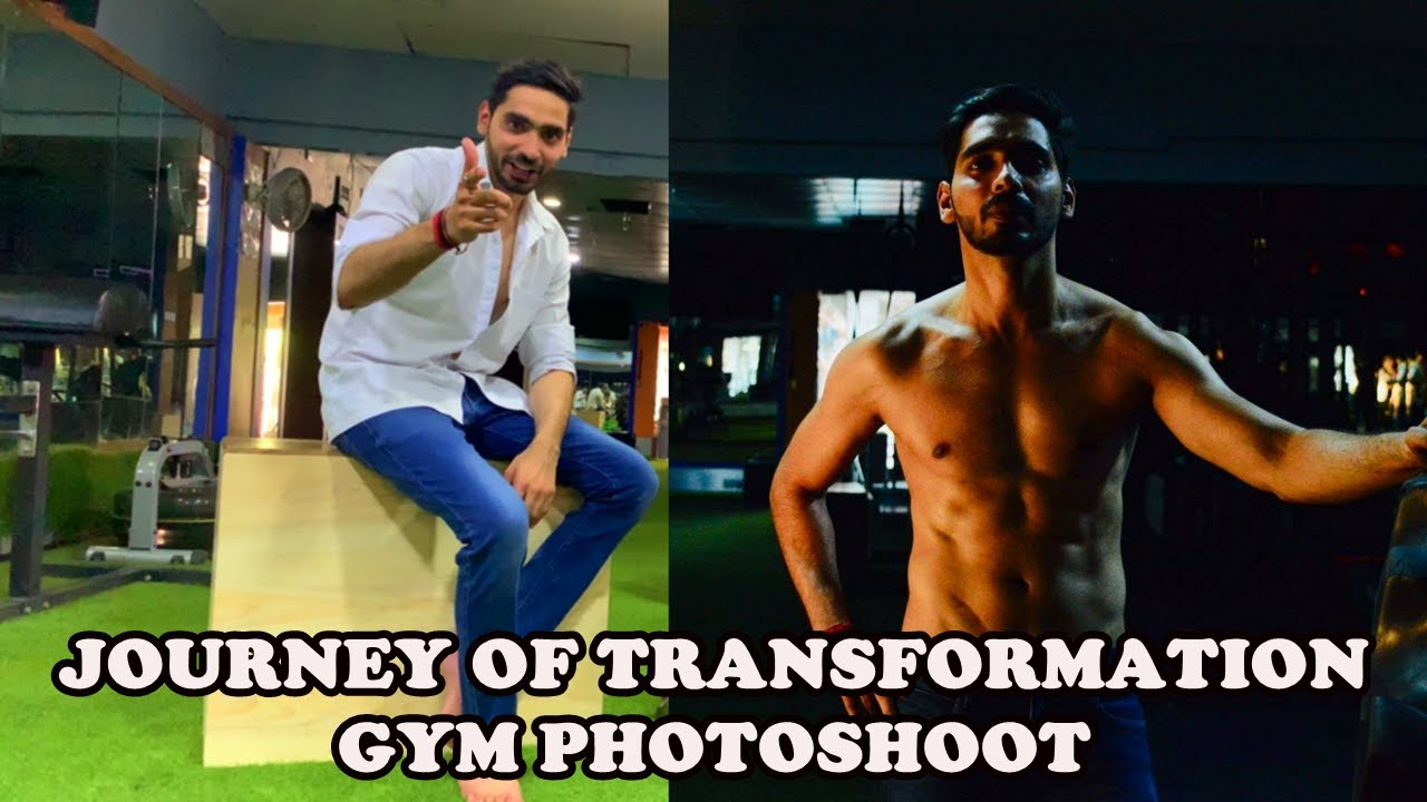 1c8426372e0 How to get in shape and prepare for a gym photoshoot   Must watch ...