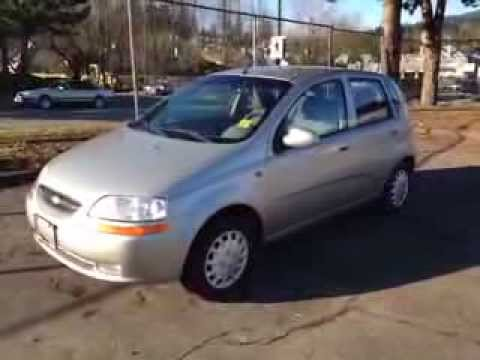 2004 Chevrolet Aveo 5 Fwd Manual For Sale At Eagle Ridge Gm In