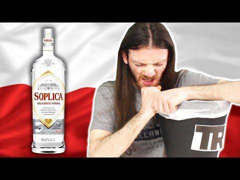 Irish People Try Polish Alcohol