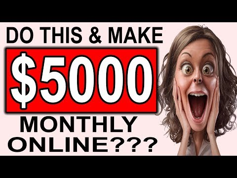 $5,000 Per Month How To Make Money On Pinterest (Beginner Friendly)