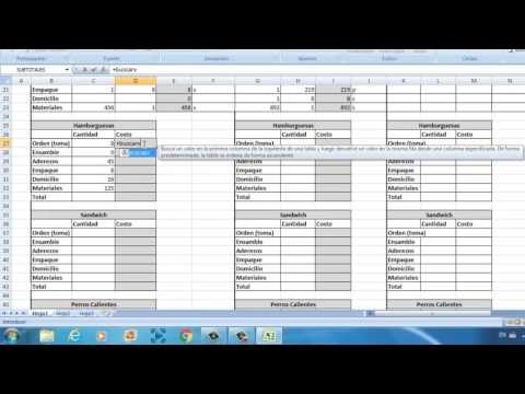 How to Add Just The Cells you want in M. Excel Pamateriales