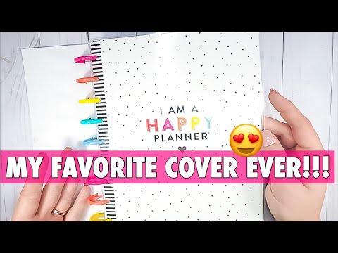 ANOTHER PLANNER?!   I AM A HAPPY PLANNER FLIP THROUGH   2019 MAMBI CLASSIC HAPPY PLANNER